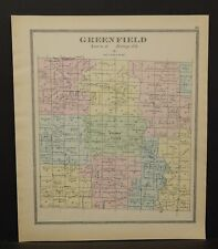 Ohio Huron County Greenfield Township 1891  !Y14#74