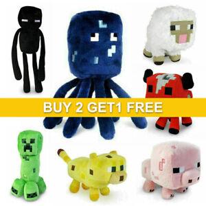 Stuffed Soft Minecraft TOY Plush Toy Kids Animal Gift Children Plushies Game