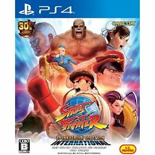 Capcom Street Fighter 30th Anniversary Sony Ps4 Playstation 4 Japanese Version