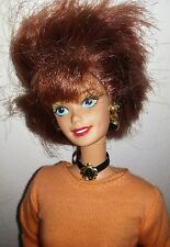 Vintage Brunette Blue Eyed BARBIE DOLL, © Mattel Inc, 1966 Made In Indonesia