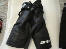 Nike Bauer Supreme 10 Hockey Pants Black Small Jr