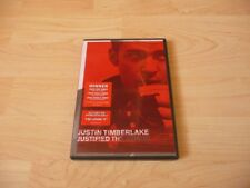 DVD Justin Timberlake - Justified - The Videos - 2003
