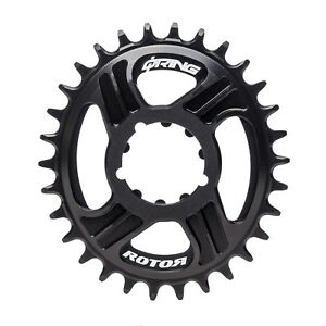ROTOR DM QRINGS OVAL CHAINRING - DIRECT MOUNT SINGLE / SRAM GXP®