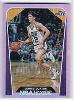 2018-19 Panini NBA #/199 Hoops John Stockton Utah Jazz Basketball