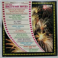 HITS FROM HOLLYWOOD MOVIES VARIOUS ARTISTS LP 1972 EXC/NM!!