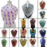 Floral 100% Silk Long Scarf Fashion Women Neck Wrap Shawl Stole Scarves -SFP1