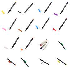 8Colors Permanent Fabric Paint Marker T-Shirt Pen For Clothes Shoes DIY Graffiti