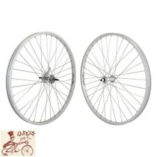 "WHEEL MASTER KT COASTER BRAKE BOLTED 26"" x 1.5""  SILVER FRONT AND REAR WHEELSET"