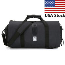 Oiwas Gym Sports Duffel Bag Travel Backpack Garment Suit Luggage Carry on Bags