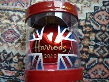 HARRODS 2019 CHRISTMAS UNION JACK  BAUBLE DATED NEW UNOPENED