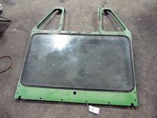 John Deere 4520 tractor front glass & frame (DK) Tag #204