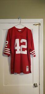 100% Authentic Mitchell & Ness Ronnie Lott 1990 49ers Legacy Jersey Sz 48 XL