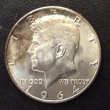 1964-D Kennedy Half Dollar Silver U.S. Coin A5216