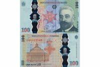 ROMANIA 100 LEI 2019 YEAR P NEW UNC  IN FOLDER