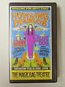 Howling for Art's Sake! Howling Diablos Gary Grimshaw Defense VHS Detroit 1995