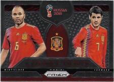 2018 Panini FIFA World Cup Connections (C-17) INIESTA / MORATA Spain