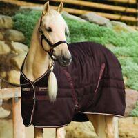 Horseware Rambo Stable Rug medium 200g - Dark Brown/Beige&Brown - Stalldecke