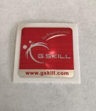 2x New G.Skill Memory Ram Original Sticker Logo Label