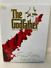 THE GODFATHER THE COPPOLA RESTORATION BLU RAY ALL 3 FILMS NEW
