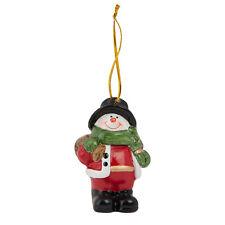 Clayre Eef Décoration de Noël Décorations d'arbre Bonhomme Neige Arbre