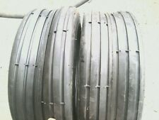 TWO 13/5.00-6 CUB, Snapper Lawnmower Rib Tread 4 ply Tubeless Tires