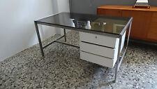 Vintage bureau design Etienne Fermigier (dlg) desk 70'S