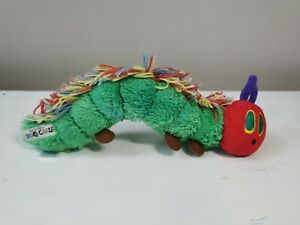 The Very Hungry Caterpillar Soft Toy Plush Eric Carle 2007