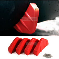 Bumper Diffuser Molding Aero Parts Lip Fin Body Spoiler Chin Red 4P for BUICK