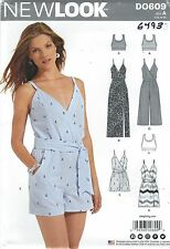 New Look 6493 Misses' Dresses', Romper and Tops  6 to 18     Sewing Pattern