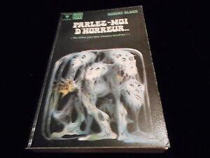 Biblioteca Marabú Fantasía 425 Robert Bloch : Parlez-Moi Horror