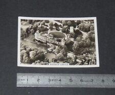 1939 BRITAIN FROM THE AIR SENIOR SERVICE CIGARETTE CARD # 16 WARWICK CASTLE