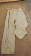 Wide Leg Cotton Plus Size 30L Trousers for Women