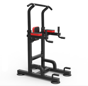 Multi-use Fitness Station Power Tower Stand Dip Bar Exercise Home Gym AU STOCK