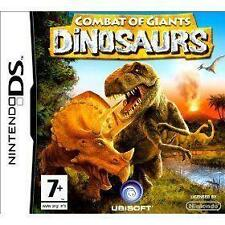 Combat of Giants: Dinosaurs (Nintendo DS, 2008) - European Version