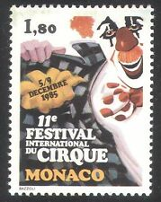 Monaco 1985 Circus/Clowns/Festival/Animation 1v (n32798)