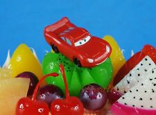DISNEY PIXAR CARS Lightning McQueen Cake Topper Diorama Toy Model Figure K1039_A