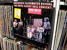 "CREEDENCE CLEARWATER REVIVAL ""ROYAL ALBERT HALL CONCERT"" RARE SEALED ERROR LP"