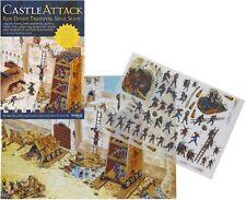 Castle aattack D'ASSEDIO scena RUB giù trasferimento attività Pack
