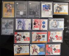 NHL Hockey Jersey RC Auto Cards Collection - Senators Devils Flames Maple Leafs