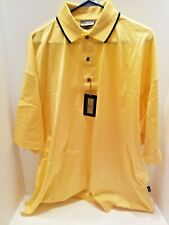 Men's 2XL Outer Banks Reserve Yellow Polo Shirt. NWT.