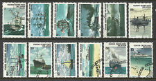 COCOS IS 1976 SHIPS COMPLETE SET OF 12v FINE USED