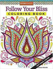 Follow Your Bliss Coloring Book (Coloring Activity Book)-ExLibrary
