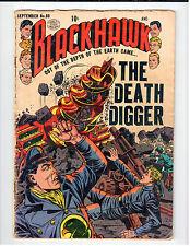 Quality Comics BLACKHAWK #80 - AG September 1954 Vintage Comic