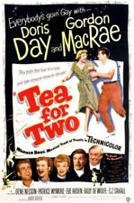 Tea For Two Doris Day DVD New and Sealed Australia All Regions