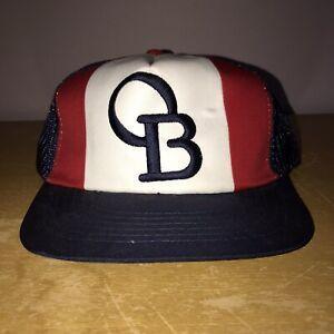 MEGA RARE VINTAGE OB BEARS DOOSAN KOREAN BASEBALL HAT never worn made in Korea