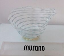 "Murano Dino Martens Aureliano Toso Filigrana Glass ""Trina"" Bowl"