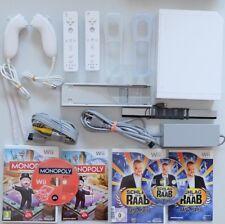 Wii Konsole Super Family Party Set 2 Spieler Set alles original von Nintendo