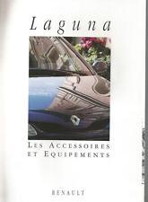 Catalogue brochure Katalog RENAULT LAGUNA ACCESSOIRES Année 1994 15 PAGES