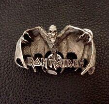 Iron Maiden Metal Pin Badge, Rock Heavy Metal Biker, Hells Angels Support 81
