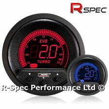 NEW 52mm Prosport EVO Red / Blue LCD 2 Bar Electronic Turbo Boost Controller Kit